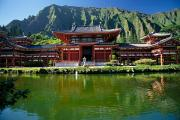 Architecture - Byodo-In Temple by Mary Van de Ven - Printscapes