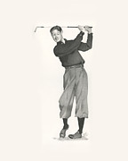 Golfer Prints Art - Byron Nelson by Pam Jones