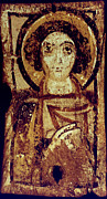 Icon Byzantine Metal Prints - Byzantine Icon Metal Print by Granger