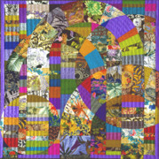 Featured Tapestries - Textiles Originals - Byzantium VI by Marilyn Henrion