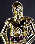 Skywalker Framed Prints - C-3po Framed Print by Paul Ward