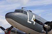 Dc-3 Plane Framed Prints - C-47 Framed Print by Maj Seda