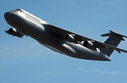 Airplane Photos - C-5 Galaxy by Stocktrek Images