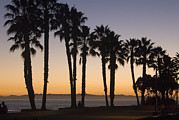 Beach Sunsets Posters - C Street On San Buenaventura Beach Poster by Rich Reid