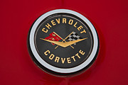 C1 Photos - C1 Corvette Emblem by Dennis Hedberg