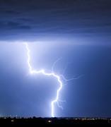 C2g Lightning Strike Print by James Bo Insogna