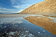 Death Valley National Park Posters - CA0002 Badwater Basin Poster by Steve Sturgill