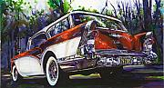 Buick Paintings - Caballero Estate Wagon by Mike Hill