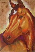 Horse Unique Art. Posters - Caballo I I Poster by Juan Jose Espinoza