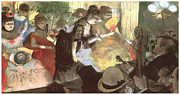 Cabaret Framed Prints - Cabaret Framed Print by Edgar Degas