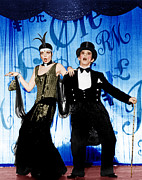 Period Clothing Photo Prints - Cabaret, From Left Liza Minnelli, Joel Print by Everett