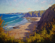 Signed . Nature Paintings - Cabbage tree Bay NSW by Graham Gercken