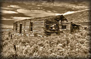 Log Cabin Photos - Cabin Fever by Shane Bechler
