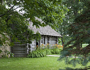 Little Cabin Photos - Cabin in the Woods - Little House Wayside by George Hawkins