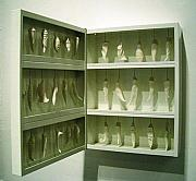 Butterfly Ceramics - Cabinet Of Chrysalises by Liz Krcma