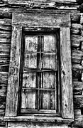 Cabin Window Framed Prints - Cabins Window Framed Print by Greg Sharpe