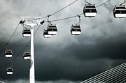 Cable Car Prints - Cable Railway In Lisbon. Print by Pedro Jesús Pacheco Martín