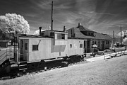 Mary Almond - Caboose and Depot