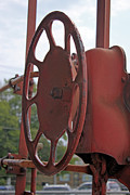 Caboose Framed Prints - Caboose Control Framed Print by Photo Enrichments