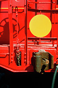Caboose Print by Jan Faul