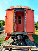 Old Caboose Photos - Caboose by Michelle Milano
