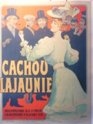 Belle Epoque Originals - Cachou Lajaunie Vintage Poster by Tamagno Francisco