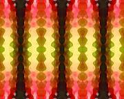 Cactus Vibrations 1 Print by Amy Vangsgard