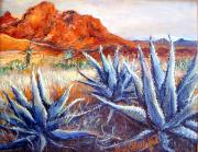 Cactus View Print by Linda Shackelford