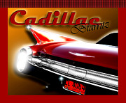 Caddy Prints - Caddy Fin Print by Michael Shreves