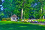 Golf Green Prints - Caddy Shack Print by Robert Pearson