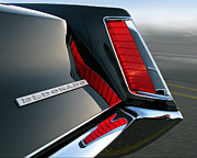 Caddy Prints - Caddy TailLight Print by Len Burgess