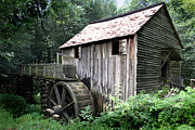 Fed Prints - Cades Grist Mill Print by Barry Jones