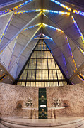 Usaf Framed Prints - Cadet Chapel Alter Framed Print by Bryan Mullennix