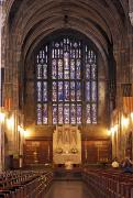 Cadet Framed Prints - Cadet Chapel With Stained Glass Windows Framed Print by Richard Nowitz
