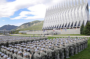 In A Row Art - Cadets Recite The Oath Of Allegiance by Stocktrek Images