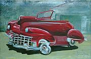 Gary Peterson Metal Prints - Cadillac 47 Metal Print by Gary Peterson