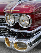 Dorado Photo Posters - Cadillac El Dorado 1958 headlights. Miami Poster by Juan Carlos Ferro Duque
