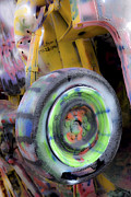 Installation Art Photos - Cadillac Ranch 12 by Luc Novovitch