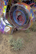 Installation Art Photos - Cadillac Ranch 18 by Luc Novovitch