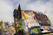 Installation Art Photos - Cadillac Ranch 20 by Luc Novovitch