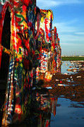 Spray Paint Cans Photos - Cadillac Ranch 6 by Lon Casler Bixby