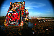 Spray Paint Cans Photos - Cadillac Ranch 7 by Lon Casler Bixby
