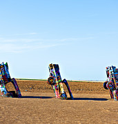 Installation Art Art - Cadillac Ranch  by Malania Hammer