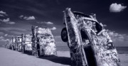 Cadillac Ranch Photos - Cadillac Ranch by Steve Williams
