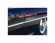 Limo Prints - Cadillac Reflection Print by Geoff Strehlow