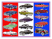 Cadillac Painting Posters - Cadillac times fifteen Poster by Jack Pumphrey
