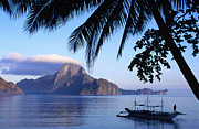 El-nido Prints - Cadlao Island From El Nido, Sunrise Print by Dallas Stribley