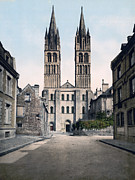 Etienne Prints - Caen - France - St. Etienne Church Print by International  Images