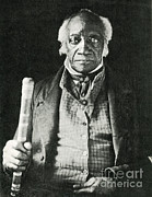 Black Man Prints - Caesar, Last Slave In New York Print by Photo Researchers