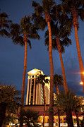 Evening Lights Prints - Caesars Palace 6 Print by Jane Rix